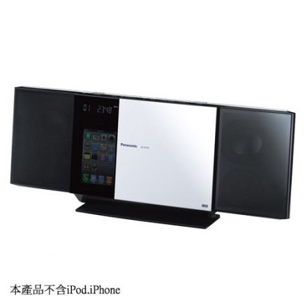 Panasonic國際iPod/iPhone/USB薄型組合音響SC-HC35