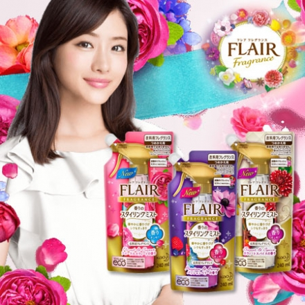 日本 花王 FLAIR Fragrance 消臭芳香噴霧 補充包 240ml