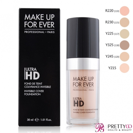 MAKE UP FOR EVER ULTRA HD超進化無瑕粉底液(30ml)-多色可選