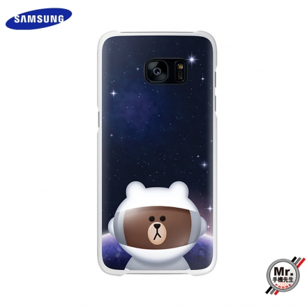 【Samsung】Galaxy S7 edge x LINE friends 原廠透明背蓋
