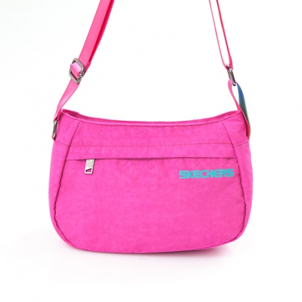 SKECHERS Glow SMALL TOTE 粉紅色 小側背包 - 7610116