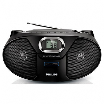 飛利浦 Philips 手提CD/USB/MP3音響 AZ385(免運費)