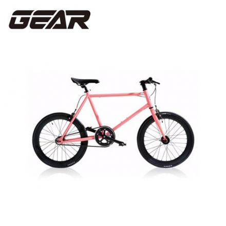 【GEAR】街頭潮流Mini Fixed Gear20吋迷你單速車 MF1