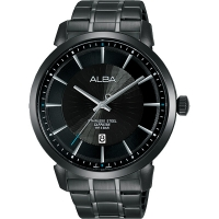 【ALBA 雅柏】ALBA VJ42-X237SD(AS9E87X1)爵士時尚紳士腕錶/ 黑 44mm(VJ42-X237SD(AS9E87X1))