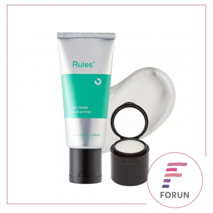 【FORUN BEAUTY】too cool for school 雙重遮瑕妝前乳 50ml