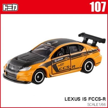 TOMICA 多美小汽車 NO.107 LEXUS IS FCCS-R (TAKARA TOMY)