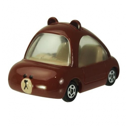 多美夢幻版小汽車 LINE 熊大 BROWN_Dream TOMICA