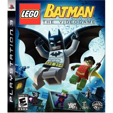 PS3 樂高蝙蝠俠 英文美版 LEGO BATMAN THE VIDEOGAME