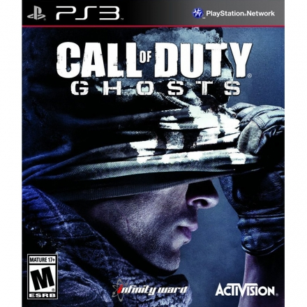 PS3 決勝時刻 魅影 英文美版 (含地圖特典) CALL OF DUTY GHOSTS