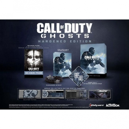 (現貨全新外盒壓傷)PS4 決勝時刻 魅影 硬派完整版 英文美版 Call of Duty Ghosts Hardened Edition