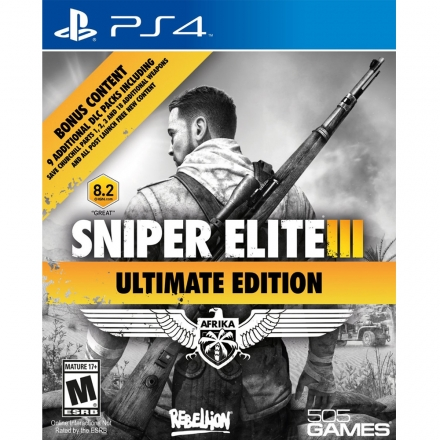 PS4 狙擊之神 3 終極版 英文美版 Sniper Elite III ULTIMATE EDITION