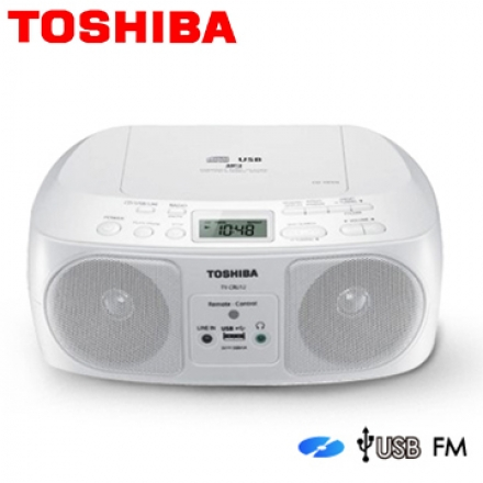 【福利品】TOSHIBA 東芝 TY-CRU8TW 手提 MP3 / CD / USB 音響