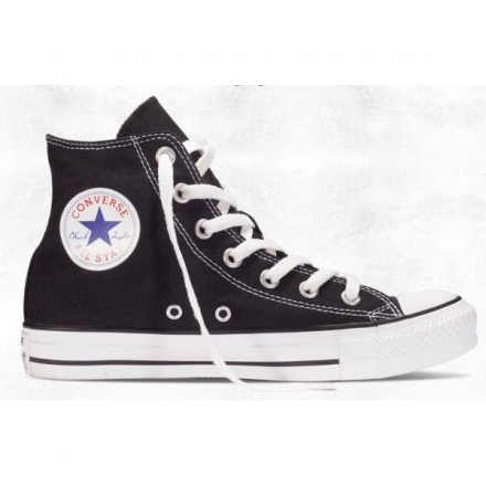 CONVERSE Chuck Taylor All Star 黑白帆布休閒鞋 NO.M9160C